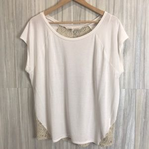 Rachel Roy | Back-lace Top | Size XXL |